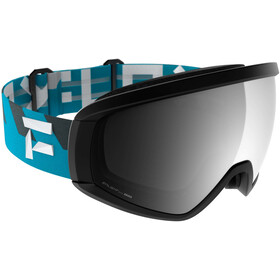 Flaxta Continuous Gafas, negro/azul